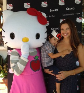 Ashley Fauset | Silver Lake Mom at Hello Kitty for Ju-Ju-Be